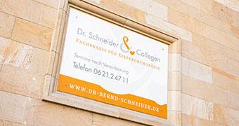 Bild Collinistraße - Dr. Bernd Schneider - Mannheim
